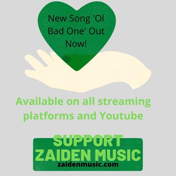 SUPPORT Zaiden Music