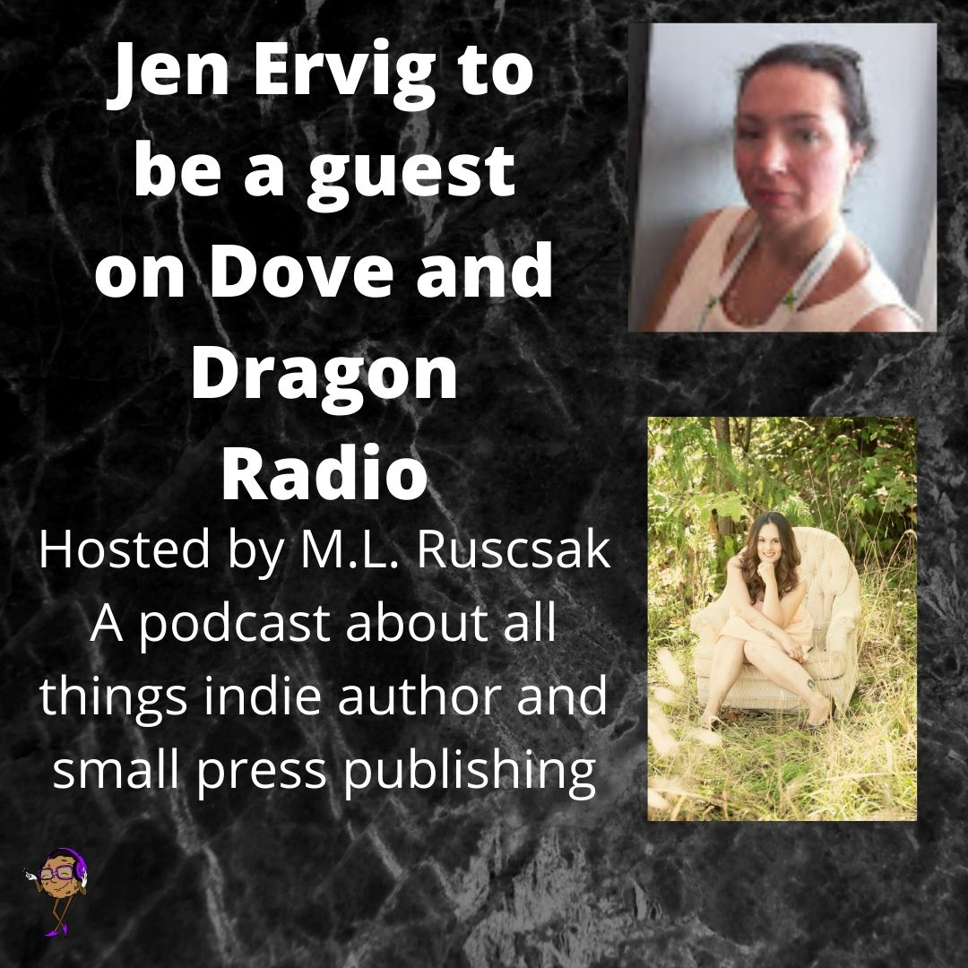 Jen Ervig to be a guest on Dove and Dragon Radio
