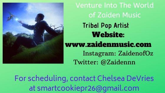 Venture Into The World of Zaiden Music